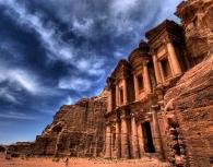 Petra by plane