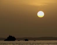 Tiran island by boat