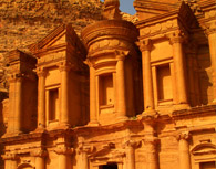 Petra by boat