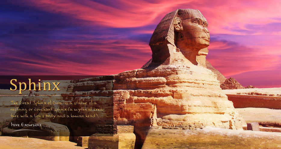 Pyramids and sphinx Giza Vacation Tours